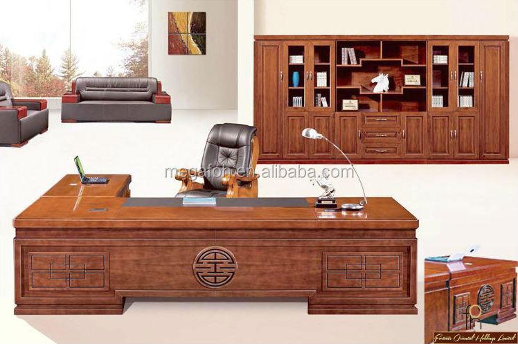 classic wood furniture bureau luxury office executive desk