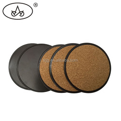 Popular style customized making wooden drink coasters sets