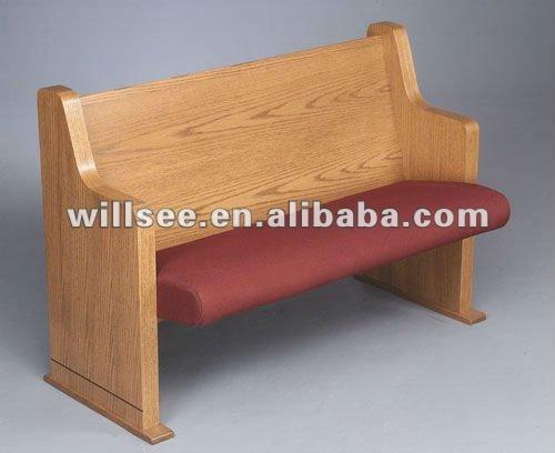 ch b27 en bois banc d 39 glise ch ne glise banc ch ne chaise d 39 glise autres meubles en bois. Black Bedroom Furniture Sets. Home Design Ideas