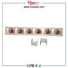 Hot Shelf Advertising Player 4.3 inch 5 inch Multi Screen / 6 In 1 Strip Shelf Bar LCD Display AD Player