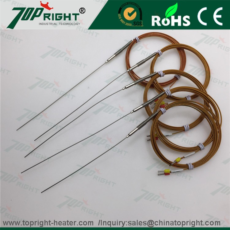 K type and J type hot runner thermocouple