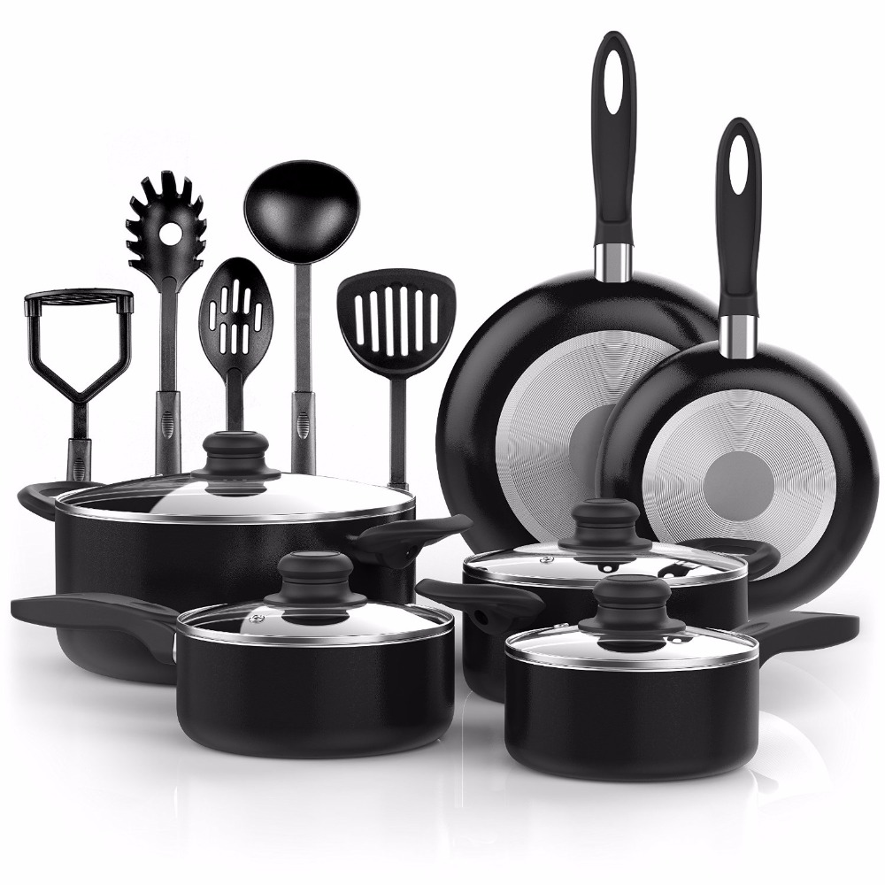 15 Piece Nonstick Cookware <strong>Set</strong>