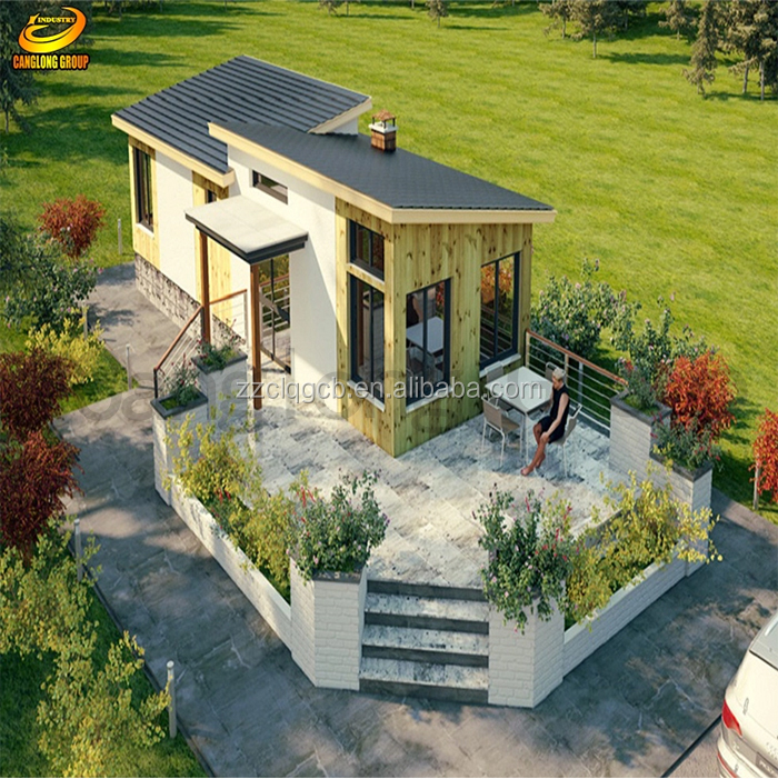 Prefabricated steel structure houses prefab concrete houses from China