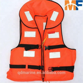 Adult Foam Swimming Life Jacket Vest With Whistle - Buy Life