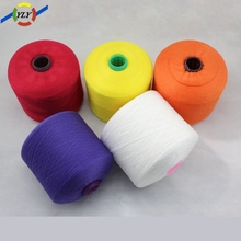 China wholesale yarn importers 100 30s/2 Polyester spun yarn with high quality