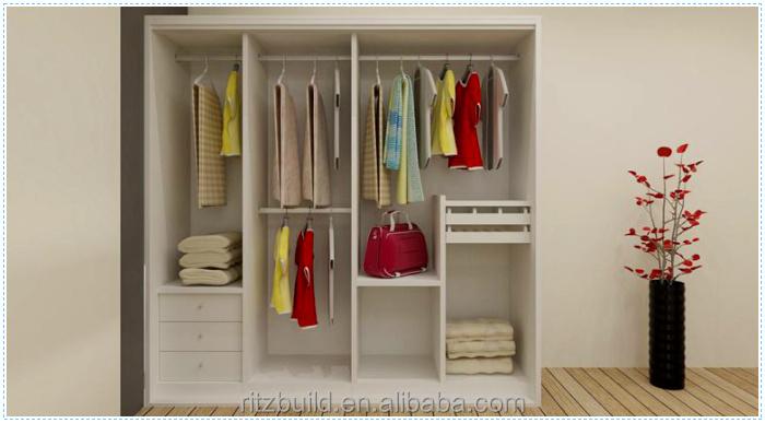 Modern Bedroom Hanging Clothes Designer Almirah Wardrobe Buy - Designs of almirah in bedroom