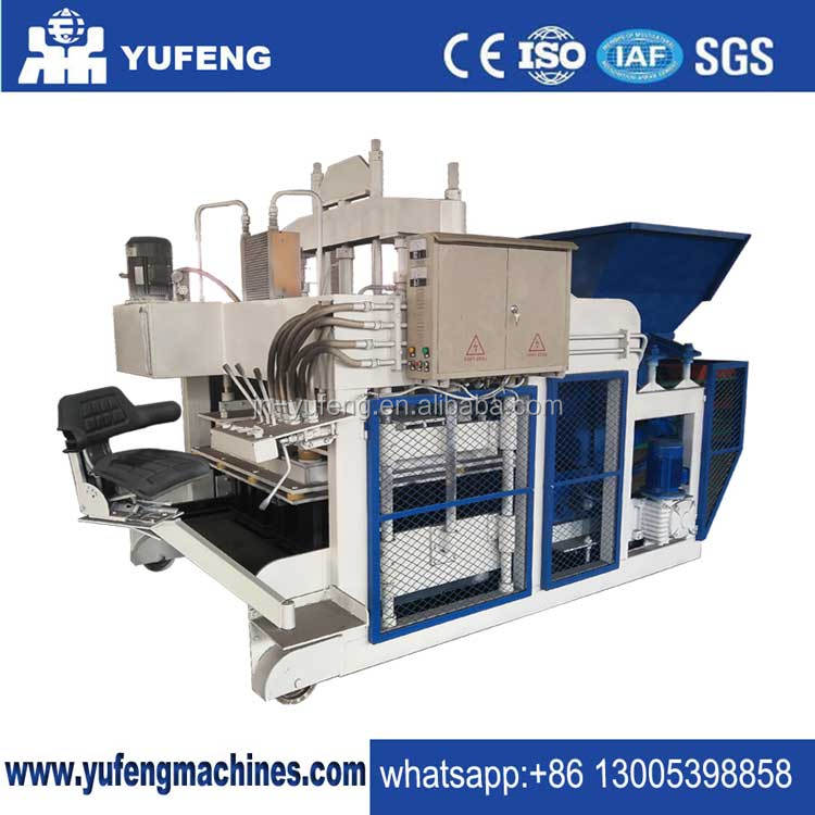 Egg laying hollow block making machine DMYF-18A mobile block machine