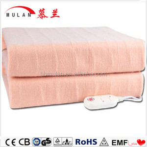 Anti-pilling Quick easy knit baby electric heating blanket