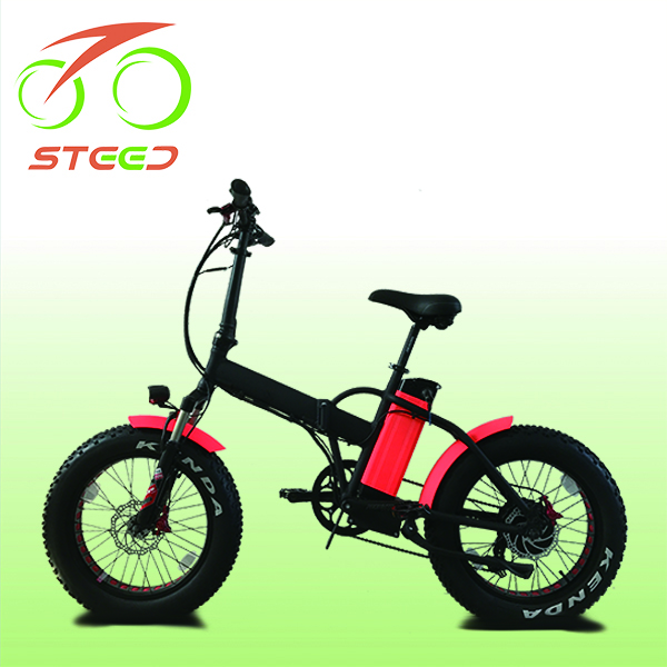500w eco motor electric folding fat bike for beach