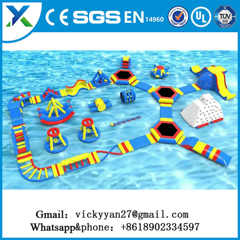 Most popular Aqua Park Equipment PVC Inflatable Aquatic Toy Interesting Water Amusement Park