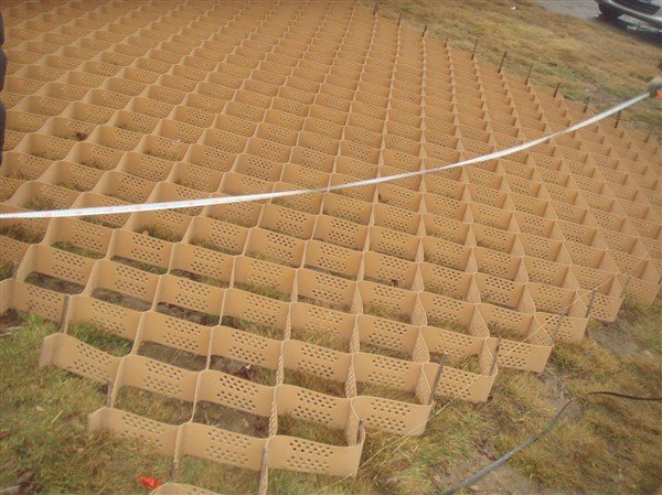 Hdpe Cellular Geocell Gravel Grid Used For Road