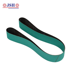 High tensile strength zirconia aluminium oxide emery cloth sanding belts abrasive cloth
