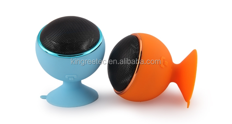 Bluetooth v3.0 mini wireless portable speaker with TF Card slof and good service