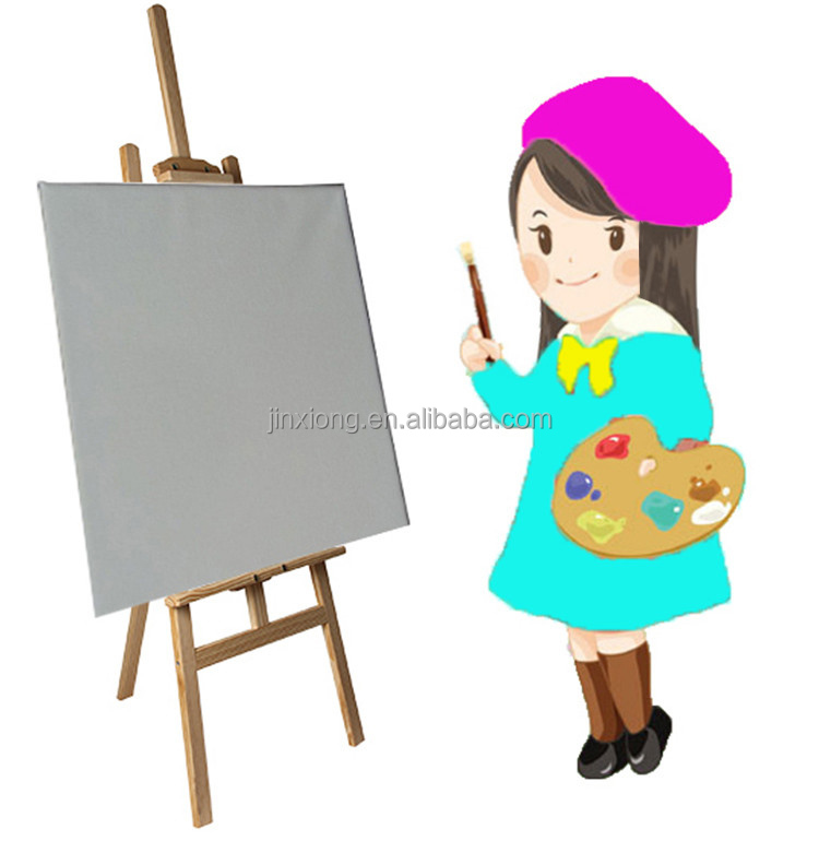 Artists Use Pine Wood Adjustable Easel
