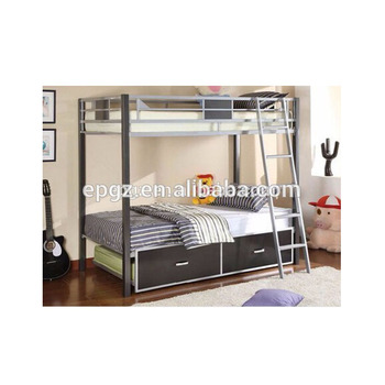High Quality Kids Bedroom Furniture Double Decker Bed Cheap Used