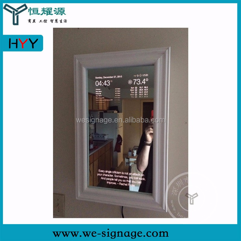 Chinese wholesales IR touch 43 inch Interactive android Magic mirror sensor touch Screen