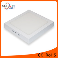 ultra slim round square led small panel 9w 12w 18w 24w flat panel lights