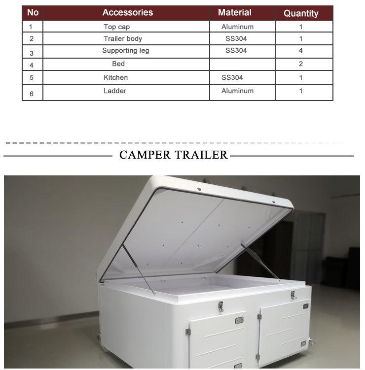 Best Selling Aluminum Truck Camper Travel Trailer Manufacturers In ...