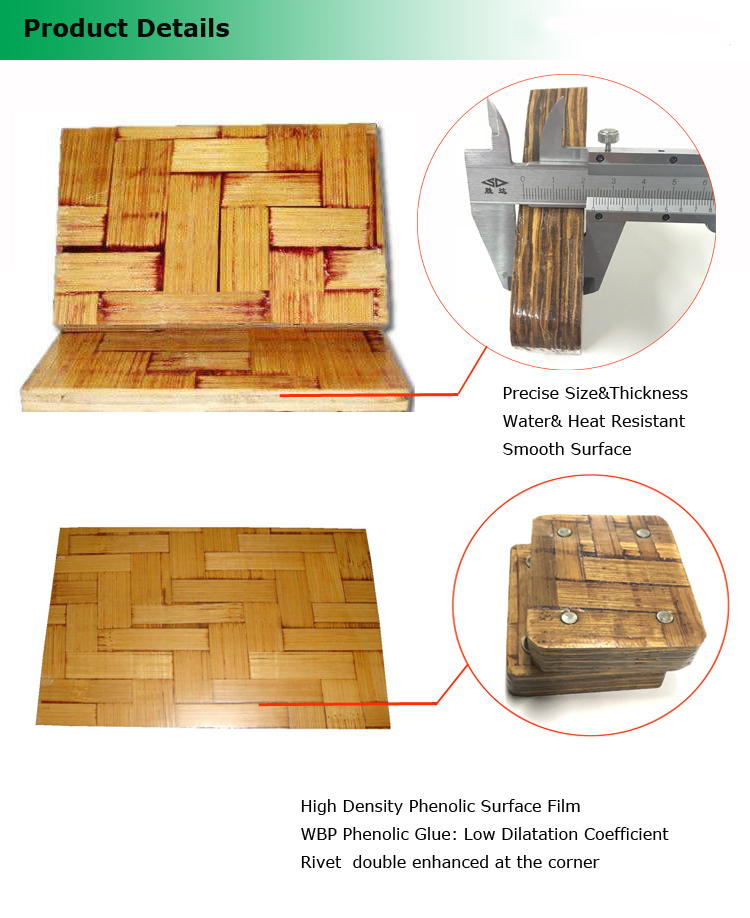 Block Machine Used Competitive Price Bamboo Brick Pallet bamboo plywood