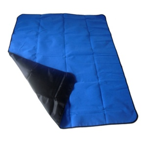 Wholesale china factory portable polyester promotion picnic blankets