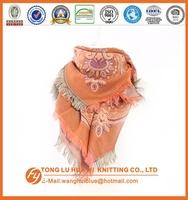 fashion woven 100% acrylic poly printed chiffon