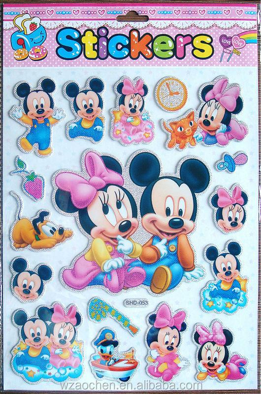 Cartone animato di topolino ambientale materiale