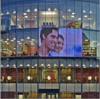 Transparent Oled Screen Led Moving Message Display Sign Outdoor ...