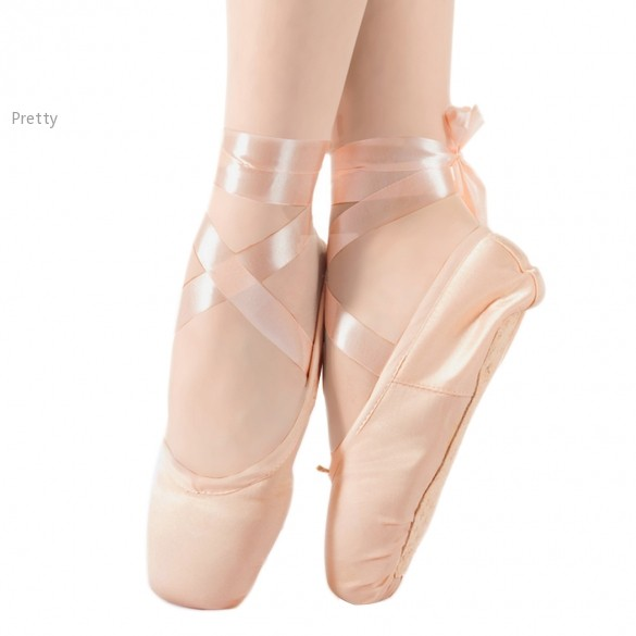 2015 New Fashion On Sale High Quality Ladies Professional Ballet Pointe Dance Shoes With Ribbons Shoes Woman 59