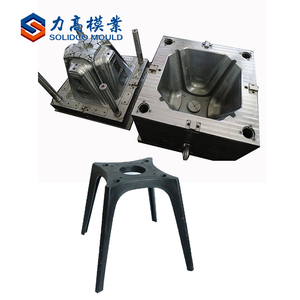 China excellent quality low price household chair stool plastic mould armless chair mould maker