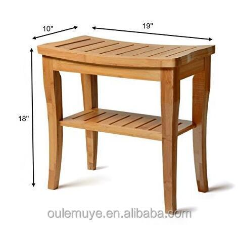 Tabouret Bois Douche petit tabouret en bois par 100% deluxe siège de douche en bois banc