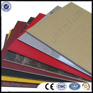Cooper aluminum composite panel 3mm with high quality and competitive price