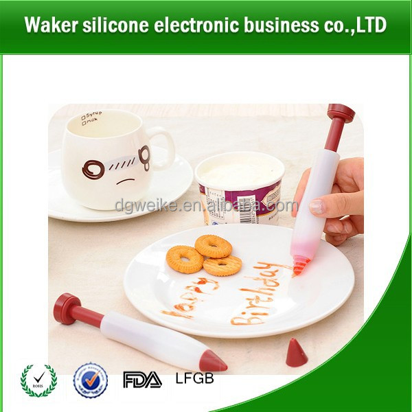 Home Use Silicone Food Writing Chocolate Decorating Pen Cake Mold Ice Cream Used for cake and pastry decorating
