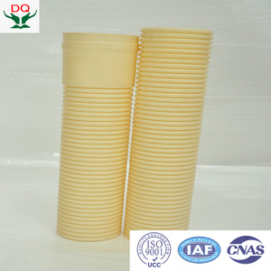 "1 inch and 12"" corrugated hdpe pipe for communication"