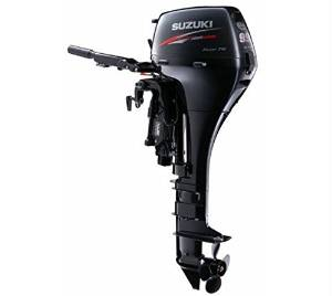 "Suzuki 9.9 HP EFI 4-Stroke Outboard Motor Tiller 25"" Shaft Electric Start Power Tilt"