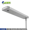40W outdoor solar power integrated all in one led solar street light 1500mah battery ufo rattan basket Rural wall lamp