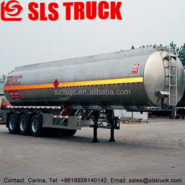 stainless steel 50cbm fuel Tri-axle tanker trailer manufacturers