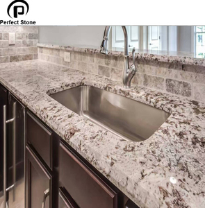 High Quality Polished Prefab Granite Kitchen Counter Top With Hot Sale