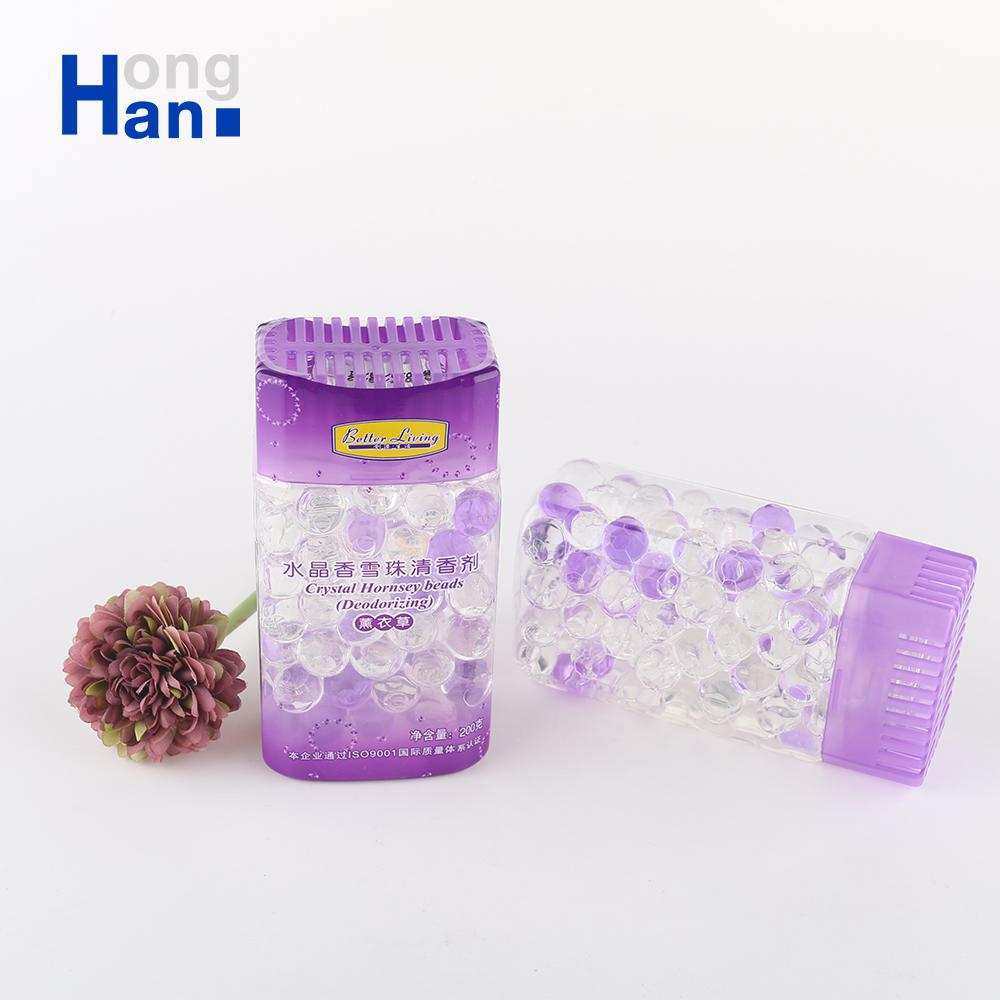 wholesale purple car initial air fresheners crystal beads industrial fragrances home freshener
