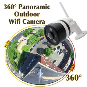CCTV Security systems camera waterproof Smart Home 960P bullet FishEye P2P Wireless Wifi 360 degree Panoramic IP outdoor Camera