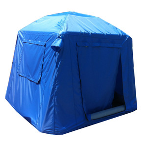 Custom design 2-3 person camping tent inflatable camping trailer tent for outdoor camping