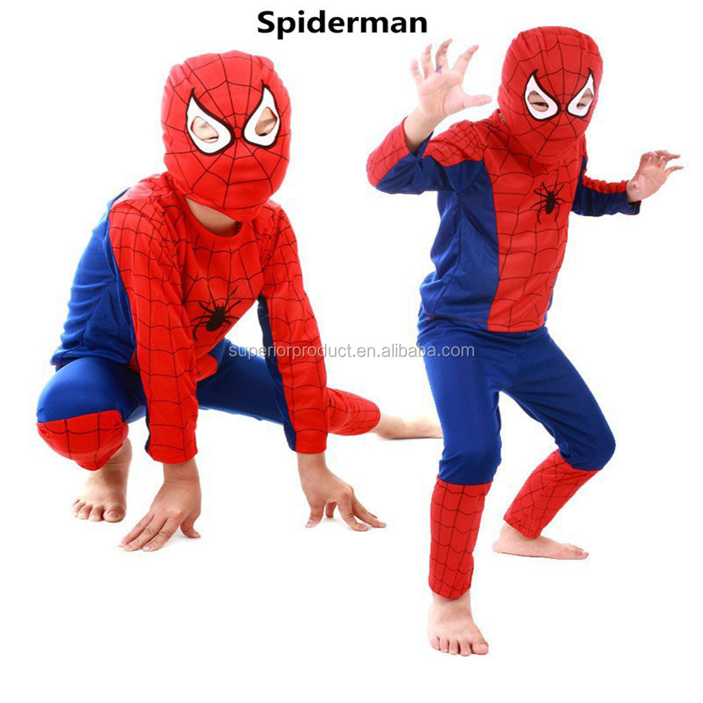Children Day Cosplay The Amazing Canvas Costume Suit Halloween ...