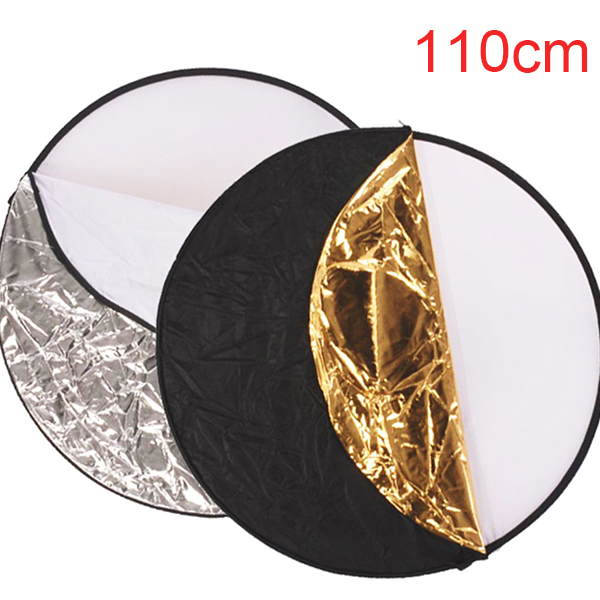 5 in 1 Collapsible Photo Studio Reflector Disc
