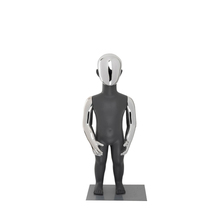 Glossy Zilver Kids/Baby <span class=keywords><strong>Mannequin</strong></span>