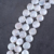 wholesale 20mm coin pearl white freshwater strand