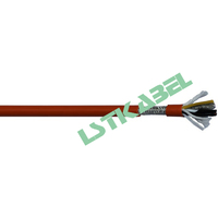 PUR Sheath Copper Stranded Data Signal Transimission Profibus Cable for canbus Wire
