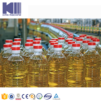 CE listed cooking oil bottling equipment King machine