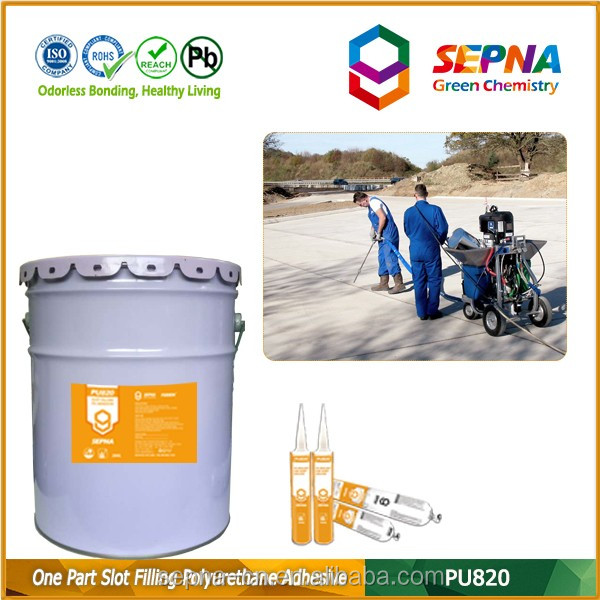 pu concrete repair super sticky cold-applied concrete sealer