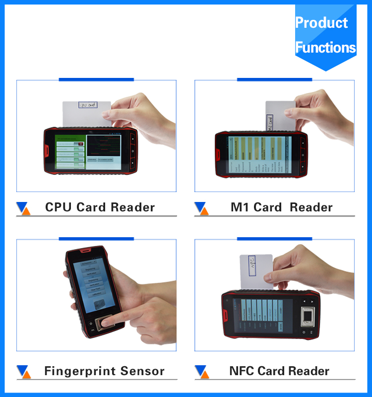 China Gold Supplier 4g Android Barcode Scanner Long Range Rfid ...