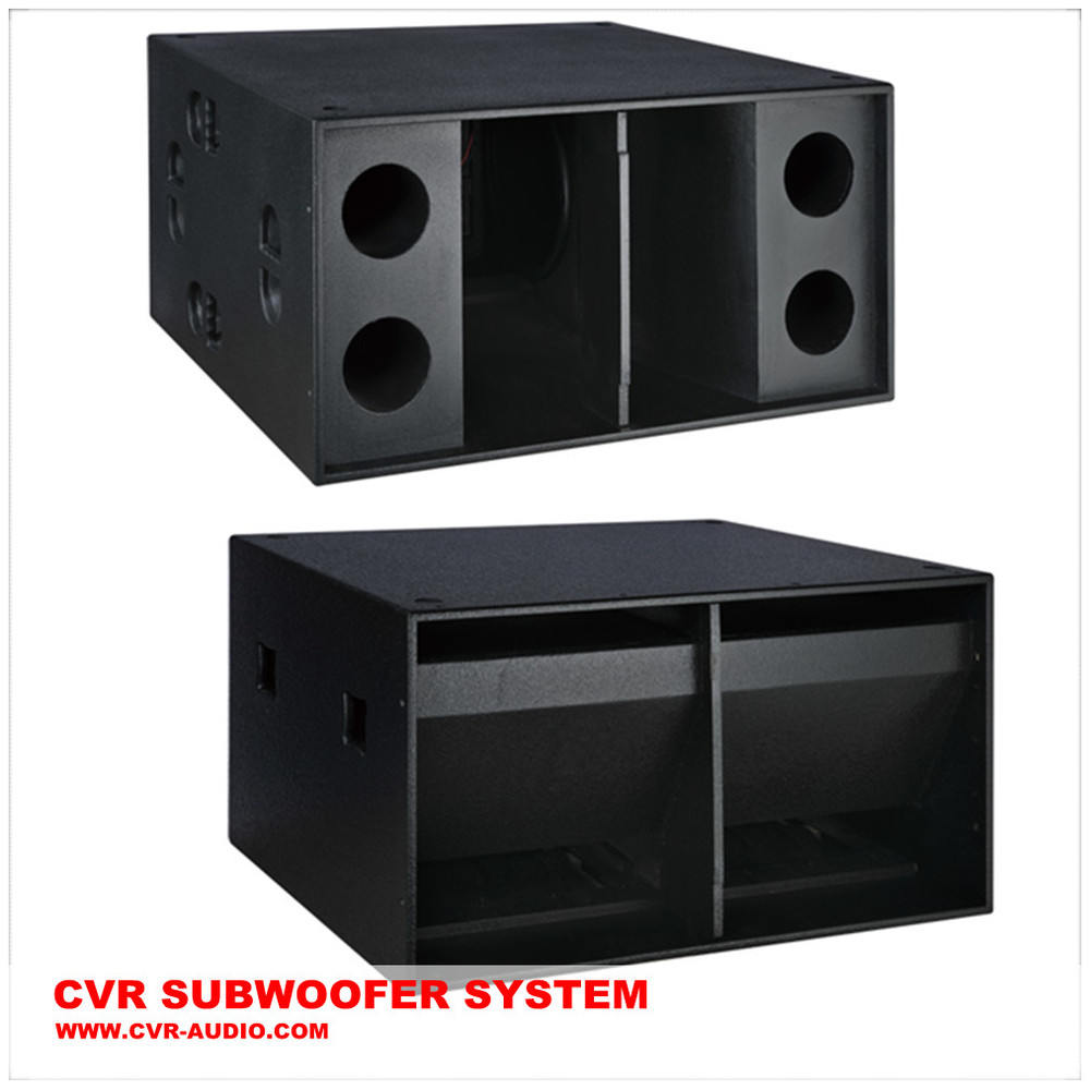 18 subwoofer sub-bass dj pro audio subwoofer speaker empty cabinet ...