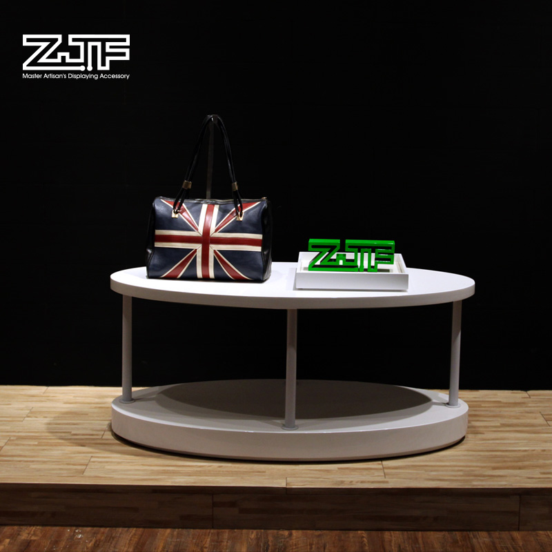 Book store sale attractive magazine table top display rack high quality wooden photo book display stand